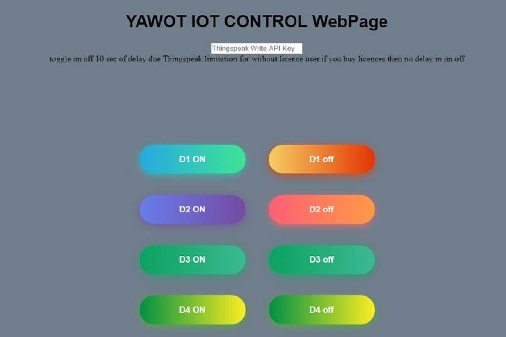 ESP8266 Web Page to Control Device Anywhere
