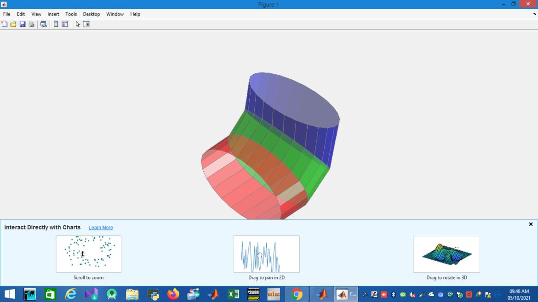 Matlab 3d model design